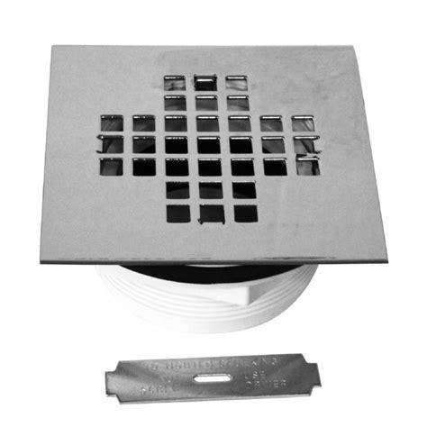 Square Shower Drain by Square Pvc Compression Shower Drain