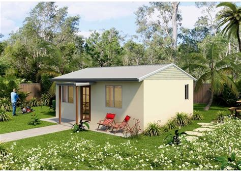 Stylish compact practical granny flat floor plans by QLD's