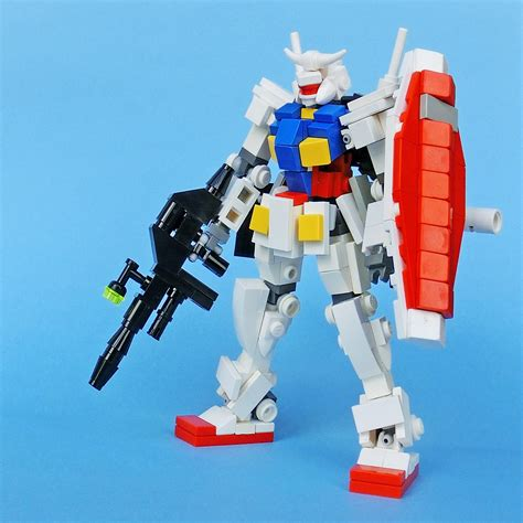 tutorial gundam lego lego build rx 78 2 gundam gundam kits collection news