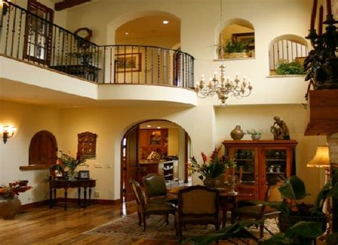 spanish home interiors spanish style house plans with interior photos google