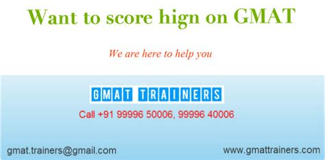 Do You Need To Take The Gmat For An Mba by Gmat Test Gmattrainers 99996 50006