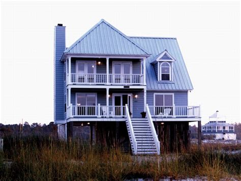 2 story beach house plans small two story beach house plans