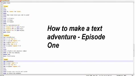 tutorial python text adventure text adventure tutorial episode 1 youtube