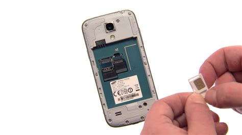 samsung galaxy  mini akku sim karte und microsd karte