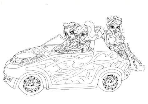 monster high coloring pages scaris free printable baby monster high coloring pages