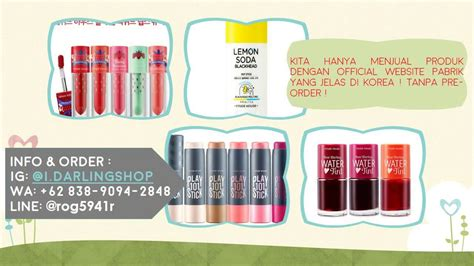 Harga Produk Etude House Jakarta toko kosmetik korea di depok jual peralatan kosmetik
