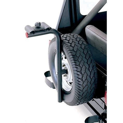 Bike Rack Spare Tire by All Things Jeep Universal Spare Tire Bike Carrier In