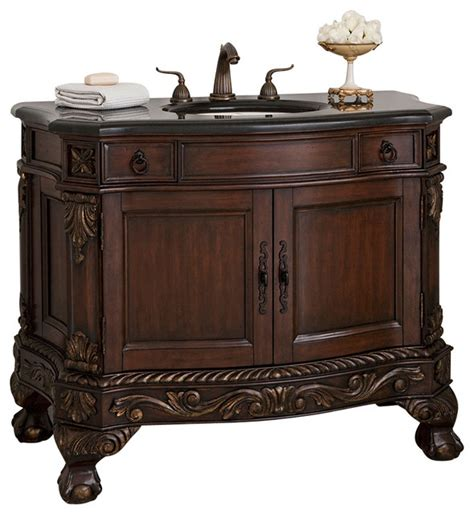 Ambella Bathroom Vanities Ambella Home Collection And Claw Sink Chest Traditional Bathroom Vanities And Sink