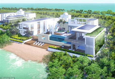 Eco Friendly House Floor Plans by Plans For Leonardo Dicaprio S Private Eco Resort On An