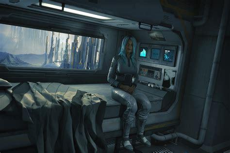 sci fi bedroom sci fi bedroom by jugster future interior pinterest