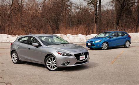 2014 mazda3 vs 2014 ford focus car reviews