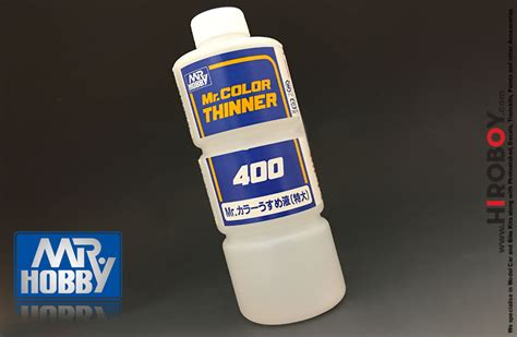 Mr Color Thinner 400 By Animemachi mr color thinners 400ml gsi t104 gunze sangyo mr hobby