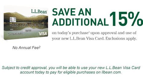 Where To Purchase Ll Bean Gift Cards - l l bean l l bean visa credit card