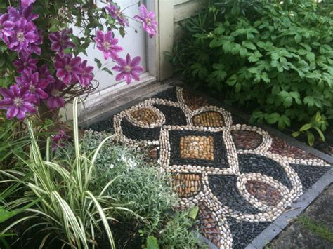 Batu Warna Batu Hias Mentos batu pebble bisa jadi lukisan cantik di halaman mau