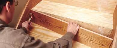 Installing Wooden Stairs by Houston Stair Parts Stair Treads Installation Houston