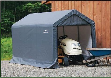 shelterlogic xx storage shed portable garage steel