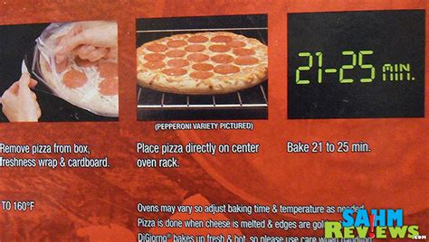 Digiorno Pizza Instructions