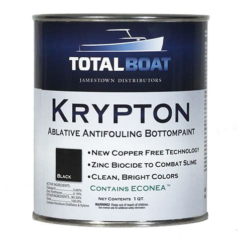 boat bottom paint speed totalboat krypton boat bottom paint copper free antifouling