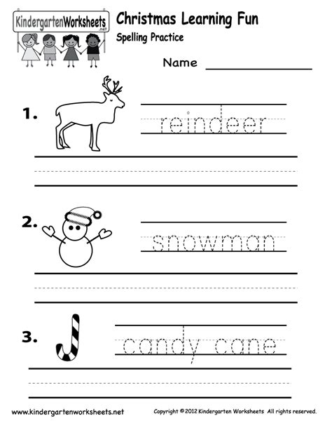 printable christmas kindergarten worksheets preschool christmas worksheets printables