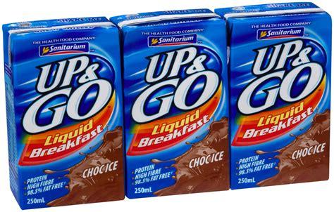 Up & Go Liquid Breakfast Chocolate   250ml   Sanitarium