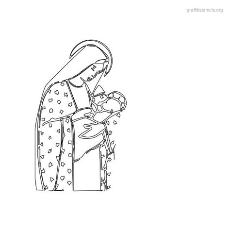 printable religious stencils jesus stencil designs pictures to pin on pinterest thepinsta