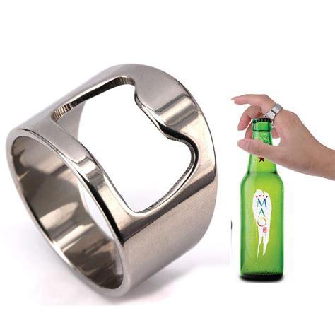Ring Bottle Opener B445 new arrival unique creative versatile stainless steel bottle opener bar tool ring for