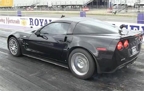 what s the fastest corvette quot world s fastest corvette zr1 quot runs 9 s corvette