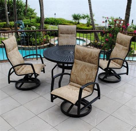 Backyard Creations Waterford Collection Backyard Creations 5 Sanibel Dining Collection At