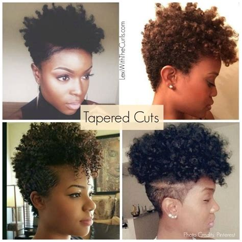 how to cut your short backhair 17 best ideas about tapered natural hairstyles on