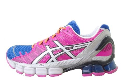 asics rainbow running shoes asics gel kinsel 4 mosaic multi color rainbow womens