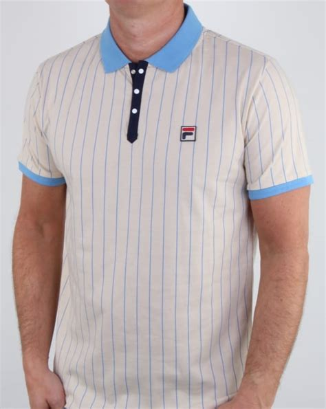 Poloshirt Fila Bb Vintage 80s Fila Vintage Bb1 Polo Shirt Mens Polo Stripe Bjorn