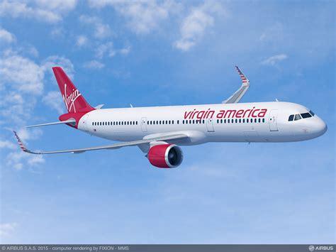 Airbus A321 Aircraft   Virgin America