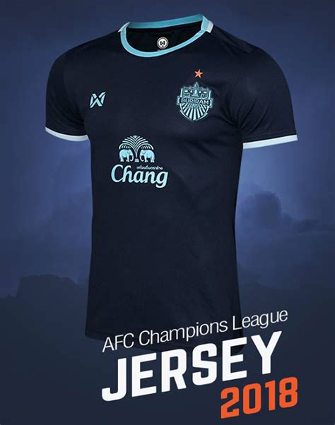 Jersey Buriram Away 2018 2018 acl buriram united thailand football soccer league jersey shirt blue thailandoriginalmade