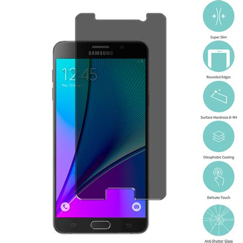 Tempered Galaxy Samsung Galaxy Note 5 Diskon privacy tempered glass screen protector for samsung