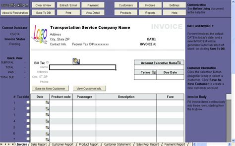 limousine service receipt template bill invoice layout 10 results found invoice