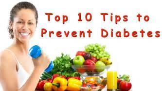 Top 10 ways to prevent diabetes diabetes health tips youtube