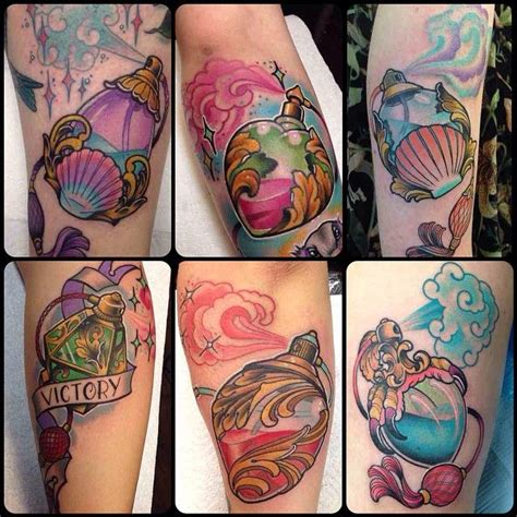 perfume tattoo best 25 perfume bottle ideas on