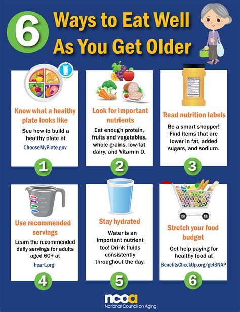 carbohydrates for elderly senior nutrition healthy tips resources ncoa
