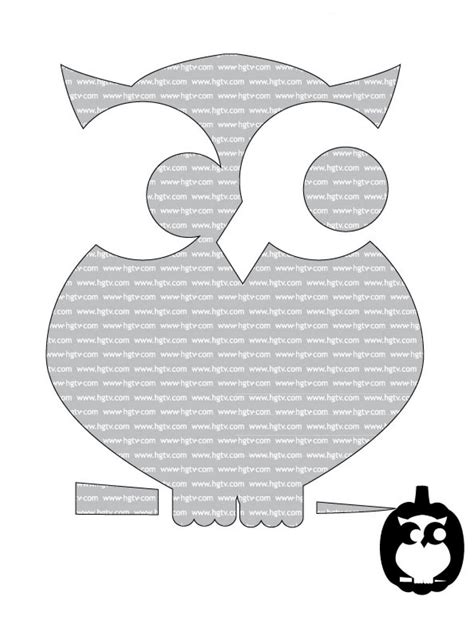Owl Pumpkin Template easy pumpkin carving templates interior design
