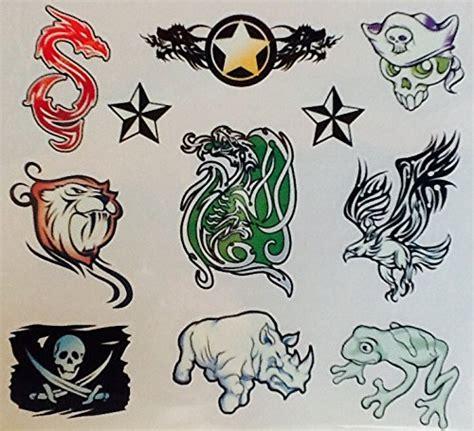 glow in the dark tribal tattoos temporary tattoos glow in the dark 2 savvi 20 count