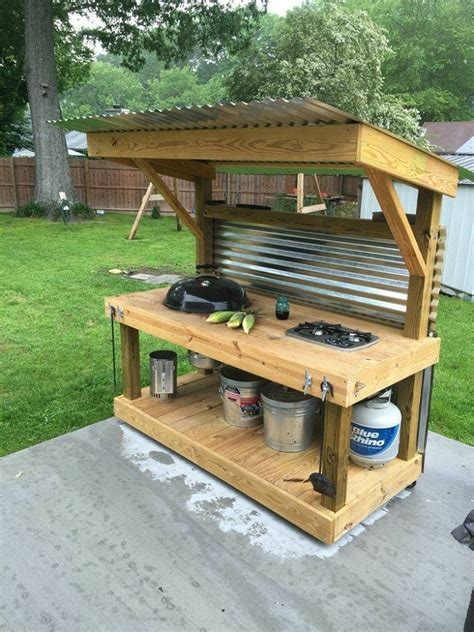 build outdoor with pallets upcycled pallet outdoor grill home design garden