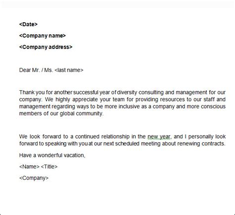 brilliant ideas of sample thank you letter for business