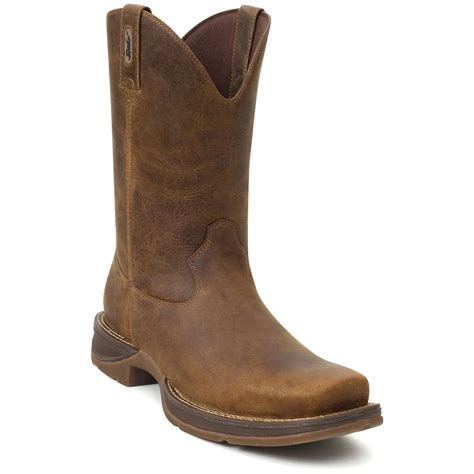 s durango 174 11 quot pull on boots trail brown 219858