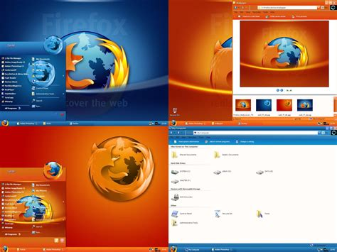 firefox visual themes firefox v4 0 by gedew on deviantart