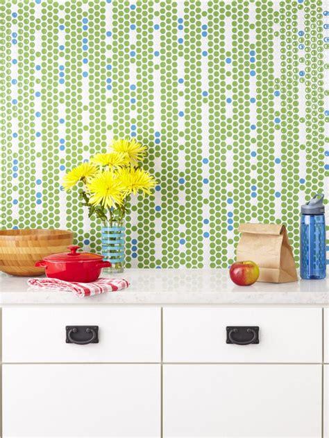 5 clever tile backsplash designs from hgtv hgtv