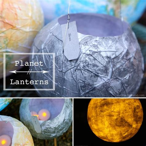 How To Make Beautiful Paper Lanterns - make beautiful paper lanterns while learning about planets