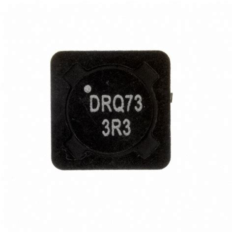 3r3 inductor drq73 3r3 r eaton inductors coils chokes digikey