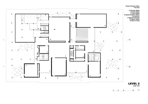 floor plan of museum floor plan level 2 perez art museum miami image