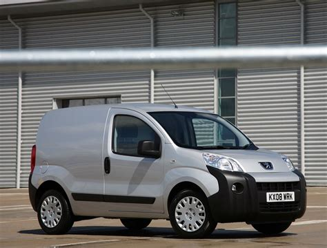 Peugeot Bipper Van Is Awarded Fleet World S Best Van Of