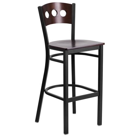 commercial outdoor bar stools tradewinds milan black commercial patio bar stool hd 5004m